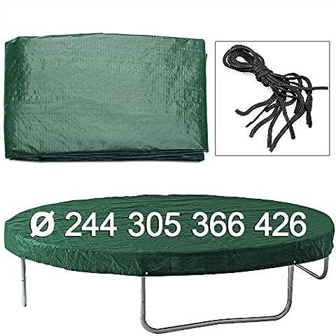 Bache Protection Trampoline - Bâche pour trampoline en PE - Housse