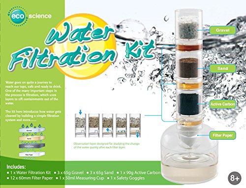 Preisvergleich Produktbild Wasserfilter zum Selber bauen deutsch und 12 Mini Lupendosen