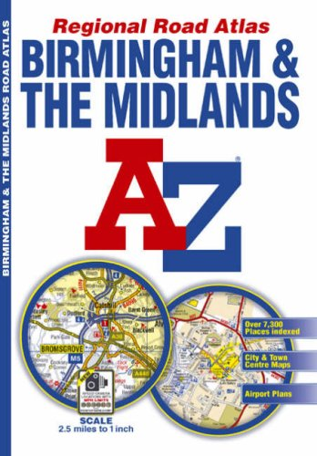Midlands Regional Road Atlas (A-Z Regional Road Atlas) for sale  Delivered anywhere in UK