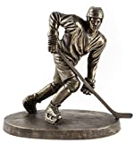 Ice Hockey player kalt gegossen Bronze Skulptur von Paul szeiler für Genesis Fine Arts