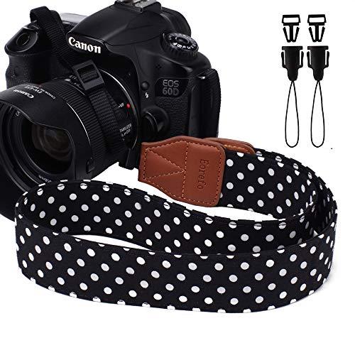 Dirky Camera Strap morbida durevole universale tracolla cinghia fotocamera  per Canon Nikon Pentax Sony ecc. aabca288693c