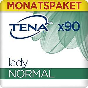 Tena Lady Normal, Monats-Paket mit 90 Einlagen (6 Packungen je 15 Einlagen)