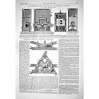 SISTEMA D'INGRANAGGI ORIZZONTALE 1867 DELLA RUOTA DEL RULLO DI JENSEN
