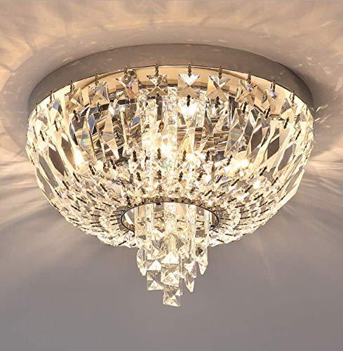 Phil Lights X Kristall Deckenleuchten Modern Luxus E14 Restaurant Dekoration Geeignet F Schlafzimmer Hotel Hochzeitsflur Galerie Belechtung45x28cm - Kunststoff-platten Runde 23