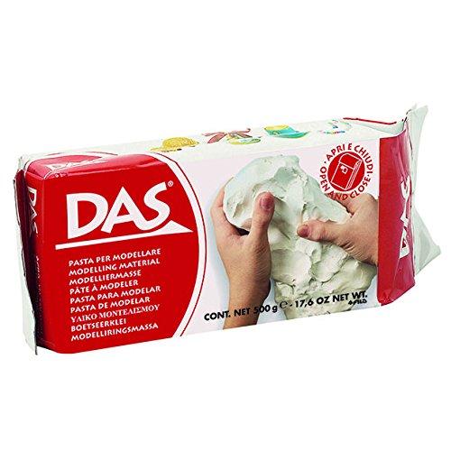Knorr Prandell DAS 3870 00 - Lufthärtende Modelliermasse, 500 g, weiß