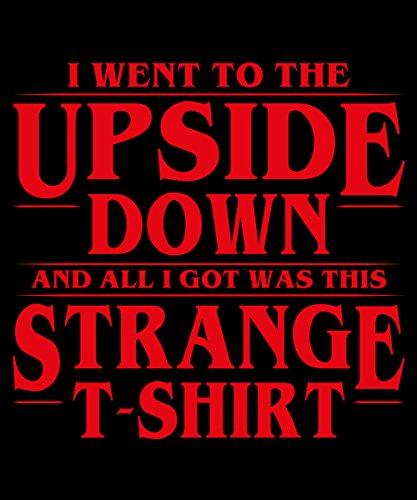 -- All I Got Was This Strange Shirt -- Boys T-Shirt Schwarz