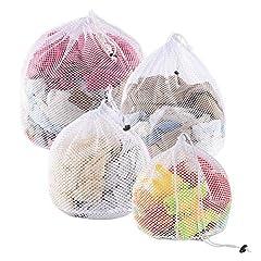 Yoassi 4 Stück Wäschesäck für