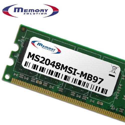 Memory Solution ms2048msi-mb972GB-Speicher (2GB, PC/Server, MSI K9N6PGM2-V2) - K9 Flash-speicher