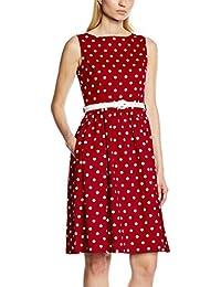 Lindy Bop Damen Kleid Audrey Red Polka