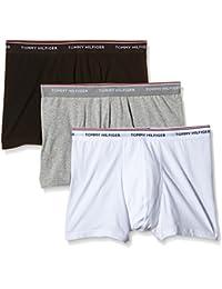 Tommy Hilfiger Men's Plain Boy Shorts,Pack Of 3