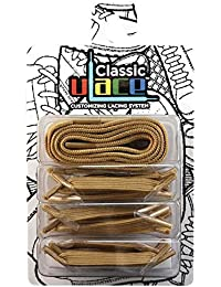 U-LACE CLASSIC Lacets plats élastiques pour chaussures et baskets Vans Converse Adidas Nike Homme Femme Enfant