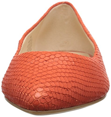 Nine West Onlee Leder Ballerinas Red/Orange