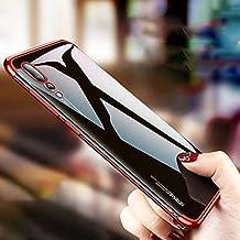 Huawei P20 Pro Kılıf Silikon Shining Parlak Kenar Lazer