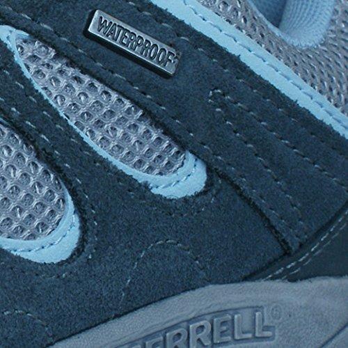 Merrell Hilltop Ventilator Waterproof Femmes Chaussures de randonnée Gris