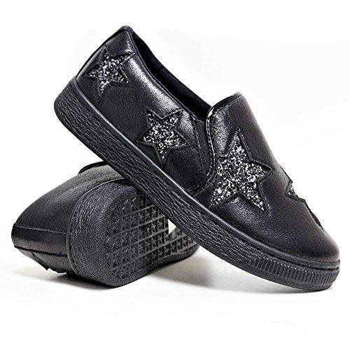 Foster Footwear, Sneaker donna Black