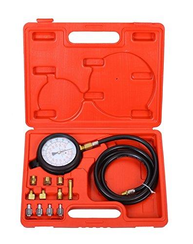 SLPRO® Motor Öldruck Tester Öldruckprüfer Messgerät Öldrucktester Werkzeug Prüfer 0-28 bar Test