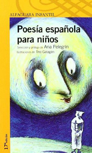 Portada del libro POESIA ESPAÑOLA PARA NIÑOS. (Proxima Parada 10 Años)