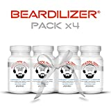 Beardilizer® - Erste Bartwuchs Lösung Für Männer (4-er Pack) - 360 Kapseln
