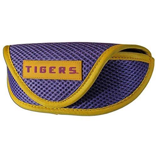 NCAA LSU Tigers Sports Sunglasses Case, Purple