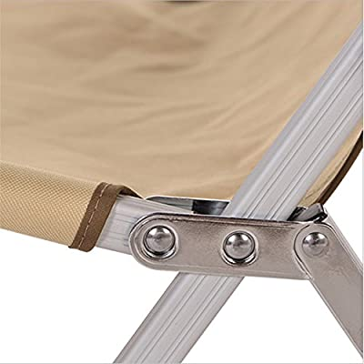 Dfghbn Voller Aluminiumklappstuhl-Freizeit-Klappstuhl im Freien, beweglicher Stuhl-Fischen-Stuhl für Picknick-Grill Klappbarer Gartenstuhl