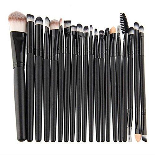 Maquita 20 Stück Professional Make-up Bürsten Set Pulver Lidschatten Eyeliner Lip-Kosmetik-Bürsten Kosmetik Pinsel Set