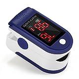GrandBeing – Oxímetro de Dedo y Monitor de Frecuencia Cardíaca con Pantalla OLED