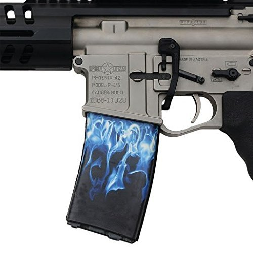 ultimate-arms-gear-ar-mag-cover-socs-for-30-40rd-polymer-pmag-mags-blue-flames-by-ultimate-arms-gear