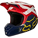 Fox Helmet V de 2Preme, Navy/Red, tamaño M