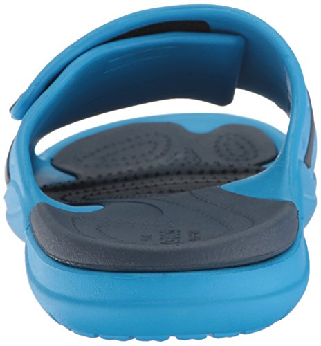 crocs Unisex-Erwachsene Modi Sport Slide Zehentrenner blau