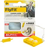 Alpine FlyFit 2015 - Earplugs with Soft Travel Filters and Free Cleaner