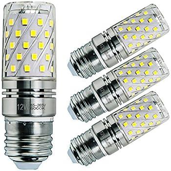Sagel E27 LED Bombillas de Maíz 12W, 100W Bombillas Incandescentes Equivalente, 6000K Blanco Fresco