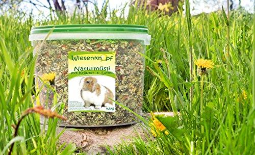 4,5kg Kaninchenfutter Wiesenknopf Strukturfutter mit Kräuter - 4