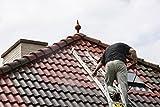 24KG Dachfarbe in Farblos für Ziegel, Dachpfanne, Eternit TÜV-GEPRÜFT Dachsanierung Dachbeschichtung Dachziegel Farbe