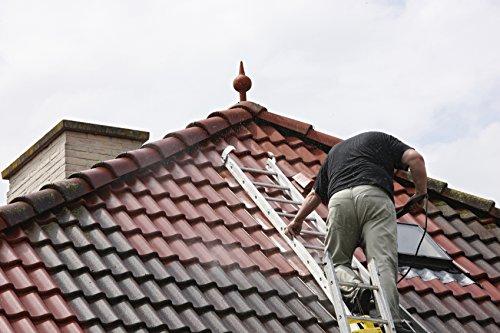 BEKATEQ BE-510 Dachfarbe, 10l Weiss, für Ziegel, Dachpfanne, Eternit - Dachsanierung Dachbeschichtung Dachziegel Farbe