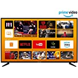 Kevin 124 cm (49 inches) 4K UHD LED Smart TV KN49UHD-PRO (Black) (2019 Model)
