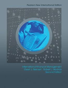 International Financial Management: Pearson New International Edition von [Bekaert, Geert J, Hodrick, Robert J.]