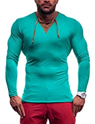 RONIDA - T-shirt - Manches longues - RONIDA 4663 - Homme - XXL Vert [1A1]