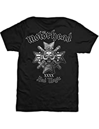 Motörhead Europe Tour Shirt 2015 Album DB, Bad Magic M-XL