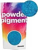 Pigments en poudre Hemway - Pigments de couleur, ultra brillants - De luxe - Pigments métalliques pour résine époxy et peinture polyuréthane., bleu