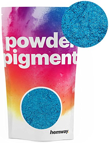 , Farbe, ultra-strahlend, metallische Farbpigmente für Epoxidharz, Polyurethanfarbe, blau ()