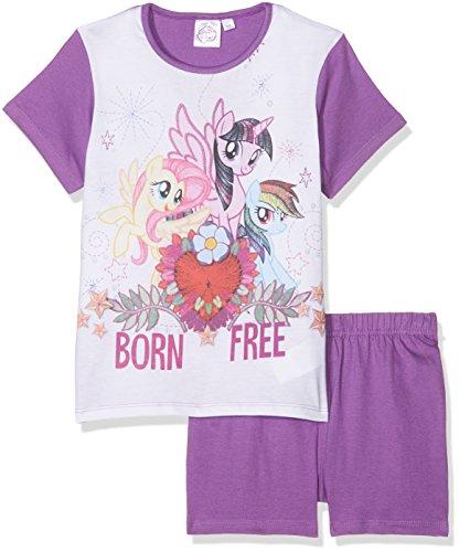 Hasbro My Little Pony Ensemble de Pyjama, Blanc Optic White, 8 Ans Fille