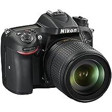 Nikon D7200 + AF-S DX NIKKOR 18-105mm f/3.5-5.6G ED VR - Cámara digital (Juego de cámara SLR, CMOS, 6000 x 4000 Pixeles, 6000 x 4000 4496 x 3000 2992 x 2000 4800 x 3200 3600 x 2400 2400 x 1600 6000 x 3368, Lente, 16:9)