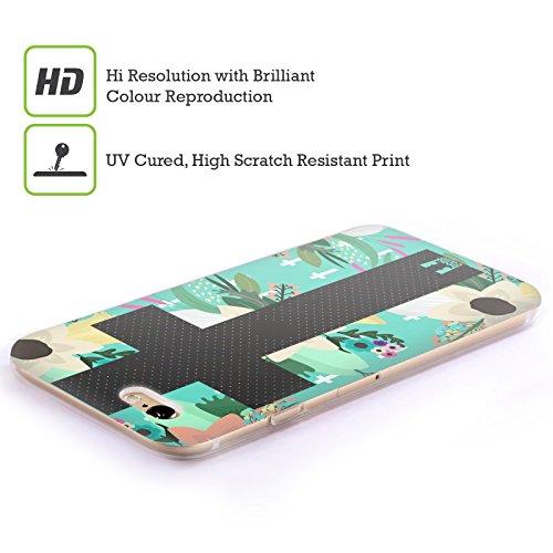 Head Case Designs Highcross Stampa A Croce Cover Morbida In Gel Per Apple iPhone 7 / iPhone 8 Croce Floreale Nera