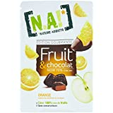 NA! NATURE ADDICTS Sachet de Fruit/Chocolat/Orange 35 g - Lot de 10