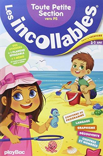 Cahier de vacances Incollables Toute petite section 2-3 ans par Collectif