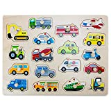 Professor Poplar's Jumbo People Movers Peg Puzzle (18pcs.) by Imagination Generation