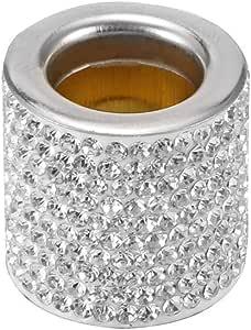 Winbang Kristall Autositz Kopfstütze Kragen Dekor Charms Diamond Bling Car Interior Zubehör Für Frauen Strass Universal 1pc Auto
