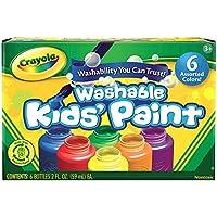 Crayola 6 Washable Kids Paint