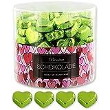 150 grüne Schokoladen Herzen Rimini