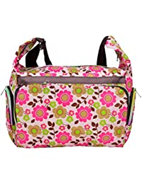 Sac à bandoulière multicolore avec Colorful floral Patterns- (BAG W WW-10)